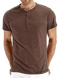 Camiseta para Hombre ZARLLE Camisetas de Impresión para Hombre Ropa Deportiva Camisa de Manga Corta de