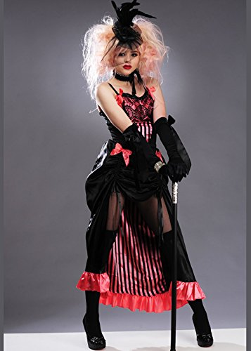 Showgirl Kostüm Burlesque - Magic Box Int. Womens Pink Burlesque Showgirl Kostüm Small (UK 8-10)