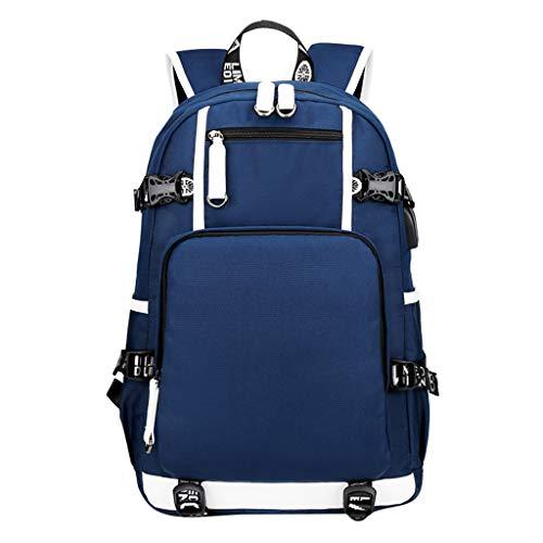 Rucksack für Männer, CHshe❤❤, ollege Wind Rucksack Oxford Retro Waterproof, Reisetasche Herrentasche, zum Einkaufen in der Schule (DB)