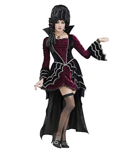 Horror-Shop Viktorianische Vampirbraut Deluxe Kostüm - Deluxe Viktorianischen Vampir Kostüm