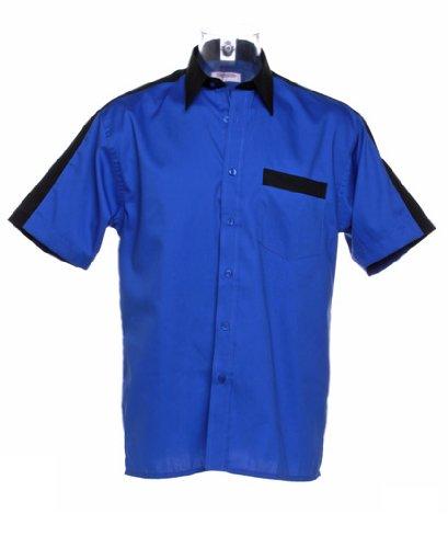 Gamegear - T-shirt de sport -  - Manches courtes Homme Bleu - Royal/Black