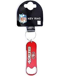 Forever Collectibles Décapsuleur San Francisco 49ers NFL Porte-clés