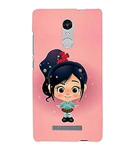 Girl with Black shoe 3D Hard Polycarbonate Designer Back Case Cover for Xiaomi Redmi Note 3 :: Xiaomi Redmi Note 3 (3rd Gen)