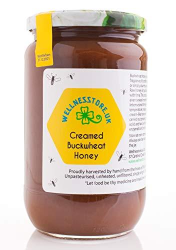Roher Buchweizenhonig, 1kg, Wellnesstore.uk