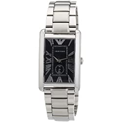 Emporio Armani Men's Quartz Watch AR1638 with Metal Strap