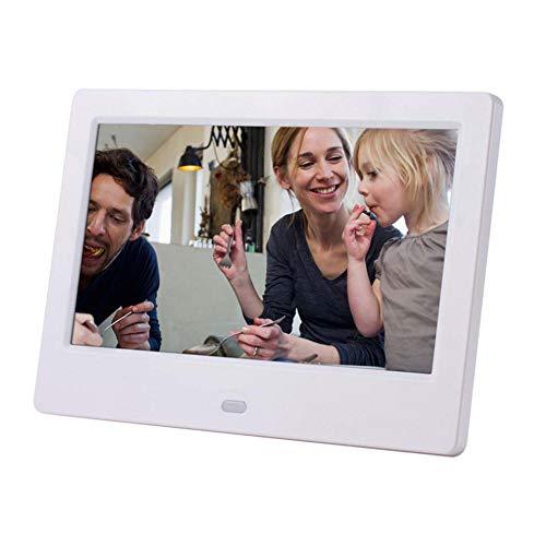 SPFDPF Digitaler Bilderrahmen 7-Zoll-LCD-Breitbild-IPS-HD-LED-Album für elektronische Werbung an der Wand