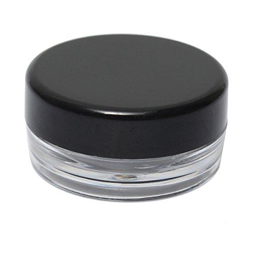 3g Eye Shadow Box Barattolo Vuoto Cosmetic Contenitori Cosmetici Crema Bottiglia Container - Copertura Caramelle Colore Nero