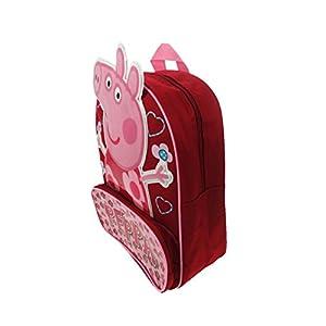 41mnvghwdEL. SS300  - Peppa Pig PEPPA001268 - Mochila Rosa Rosa