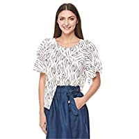 Ichi Blouse For Women, Off White, 20106436, Size Small