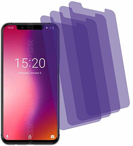4X Crystal Clear Klar Schutzfolie für Umidigi One Displayschutzfolie Bildschirmschutzfolie Schutzhülle Displayschutz Displayfolie Folie