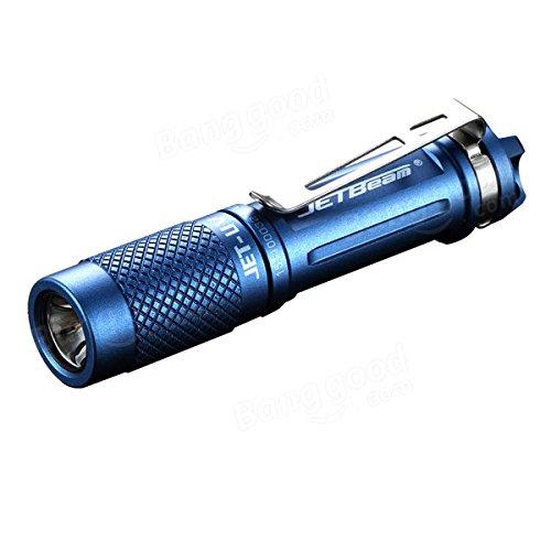 Global Jetbeam JET-UV 3535-UV-365nm EDC LED Lampe de poche 1xAAA