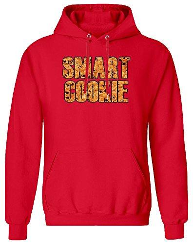 Smart Cookie Hoodie Sweatshirt für Männer - 80% Baumwolle, 20% Polyester - Kundenspezifische Bedruckte Kleidung für Männer Large
