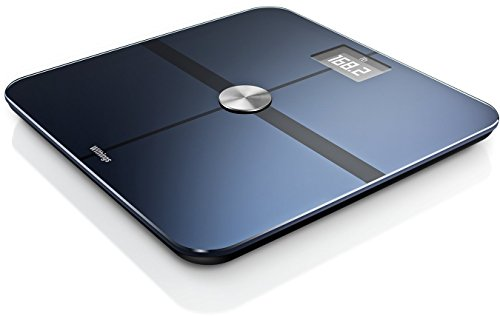 Withings Smart Body Analyzer Bilancia Connessa e Monitoraggio della Forma, Nero