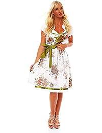 Balkonette Dirndl Set Franziska 3-tlg. Marken Tracht - Kleid, Bluse und Dirndlschürze in verschiedenen Variationen , Gr. 34 - 44