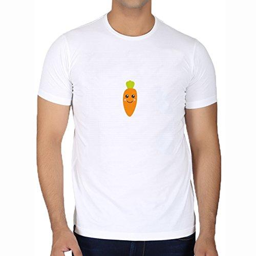 t-shirt-bianco-girocollo-uomo-taglia-s-bambino-carino-by-ilovecotton