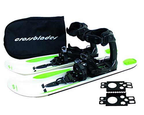 Crossblades Schneeschuhe Softboot, Tourenski System zum Schneeschuh-Wandern inkl. Wendeplatte, Tasche und Harscheisen -