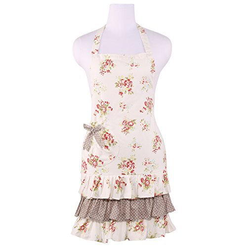 neoviva-cotton-kitchen-apron-for-women-with-ruffles-floral-nitong-rose-by-neoviva