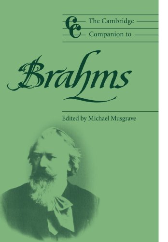 The Cambridge Companion to Brahms (Cambridge Companions to Music)