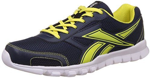 Reebok Men's Transit Runner 2.0 Navy, Green and White Running Shoes – 8 UK/India (42 EU) (9 US) 41mo0Sq2l 2BL