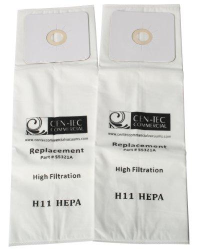 cen-tec 55321Systemen 3A HEPA Central 2er Pack Staubsaugerbeutel für Nutone, CV und Micro - Eureka-vac Zubehör
