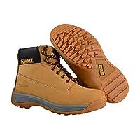 أحذية السلامة من ديوالت للرجال، لون عسلي اللون، مقاس 9