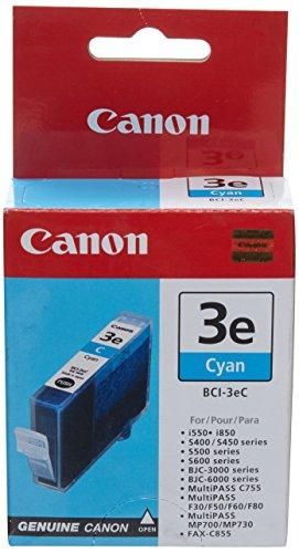 Canon BCI 3eC-Tintenbehälter-1x Cyan-340Seiten