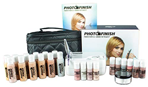 Photo Finish Professionelles Airbrush-Kosmetik-Make-up-Set Master Set/Fair bis Tan Shades