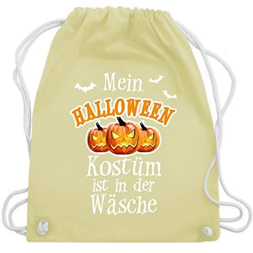 Halloween - Mein Halloween Kostüm ist in der Wäsche - Unisize - Pastell Gelb - WM110 - Turnbeutel & Gym ()