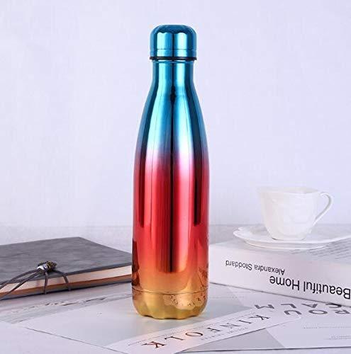 Lijincheng Outdoor Wasserflasche Bowling Sphärisch Edelstahl Vakuum Getränk Flasche Vakuum Isolierung Thermobecher, 7