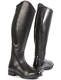 'United Sportproducts B445–Germany USG 12150001–446–204–Botas de equitación Happy Boot, talla 45, color negro extra amplio, H/W