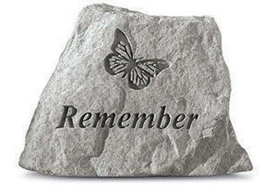 Kay Berry-78520 Angemeldet Inc. - Butterfly Memorial - 3,5 Zoll x 3 Zoll (Butterfly Berry)