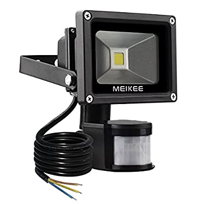 MEIKEE 10w Security Lights with Motion Sensor - low-cost UK light store.