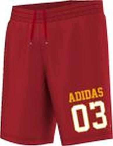 Adidas Shorts Men MESH BBALLSHORT S19135 Rot, Größe:L (Shorts Mesh Adidas)