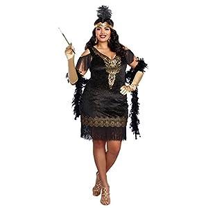 DreamGirl-10700X Swanky Flapper Costume, 2x -Large