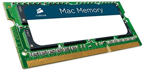 Corsair Mac Memory - Memoria para Apple Mac de 16 GB (2 x 8 GB, DDR3, SODIMM, 1333 MHz, CL9, certificada por Apple) (CMSA16GX3M2A1333C9)