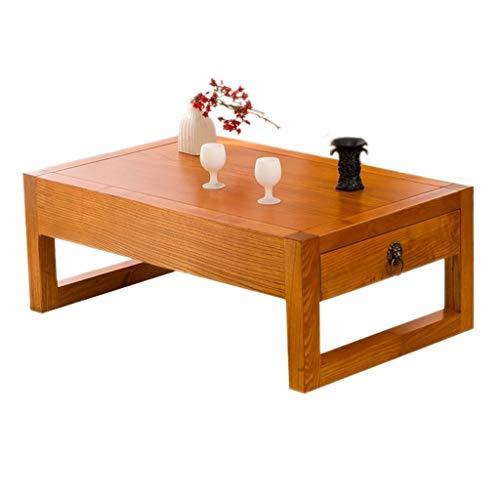 Mesas de café Mesita de Tatami de Madera Maciza Mesa de te ...