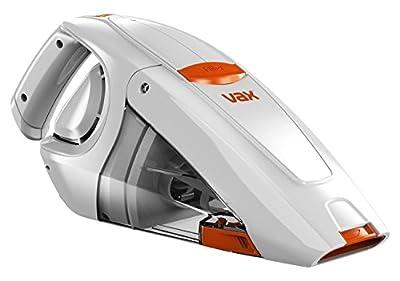 Vax H85-GA-B10 Gator Cordless Handheld Vacuum Cleaner, 0.3 L - White/Orange