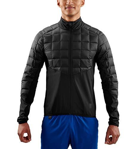 Skins Herren Activewear Jedeye Mapped Down Jacke, Schwarz, m -