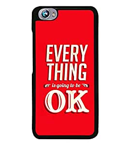 Fuson Designer Back Case Cover for Micromax Canvas Play Q355 (hope support caligraphy art font)