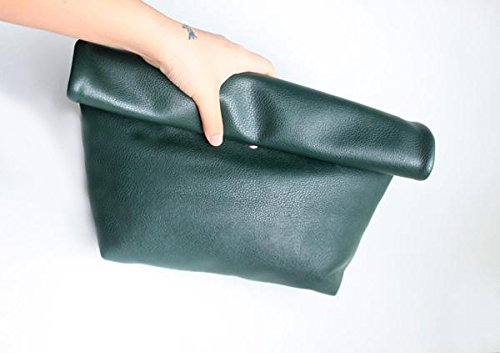 Zarapack - Borsetta senza manici donna (verde)