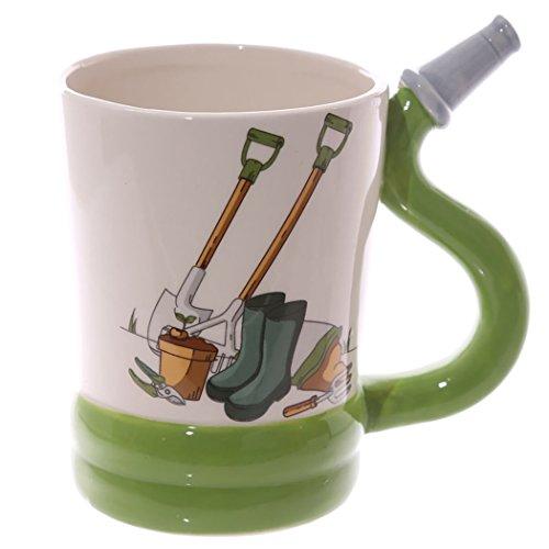 Kaffee- Tee Tasse #50592, Garten Werkzeug Griff Keramik Tasse - Gartenschlauch