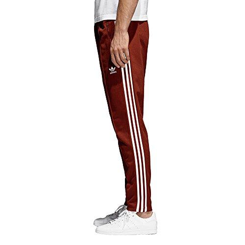 adidas Herren Jogginghose Beckenbauer Tp Rosso (Bordeaux)