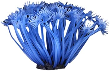 Generic SH188 Artificial Coral for Fish Tank Decor (Blue)