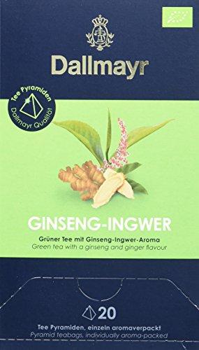 Dallmayr Teepyramide Ginseng/Ingwer Bio, 1er Pack (1 x 50 g)