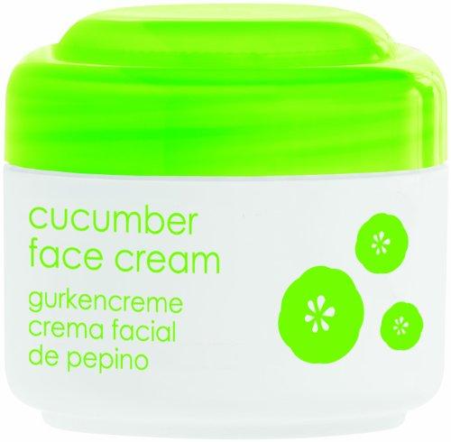 CUCUMBER FACE CREAM 50ml 1.7 fl oz, ZIAJA, vitamin E, vitamin A, provitamin B5 (d-panthenol), cucumber pulp extract