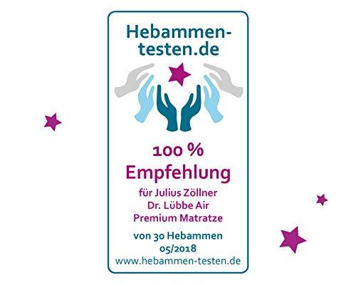 Julius Zöllner 7960200000 – Babymatratze Dr. Lübbe Air Premium - 8