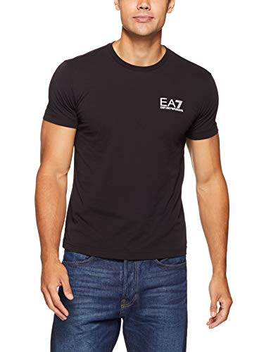 538955f29 EMPORIO ARMANI Mens EA7 Mens Train Core ID T-Shirt in Black - L
