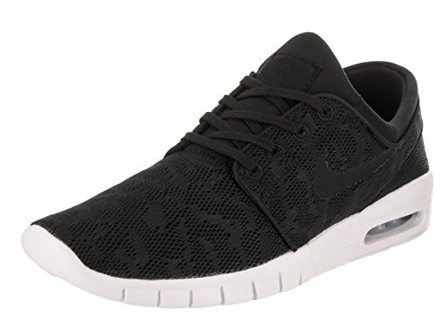 Nike Unisex SB Stefan Janoski Max Schwarz Synthetik Sneaker 47,5 (Skateboard-schuhe Sb Nike)