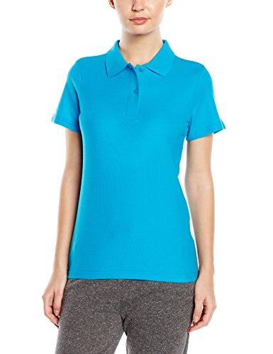 Stedman Apparel Polo ST3100t-shirt à manches courtes pour femme Coupe standar Bleu - Ocean Blue