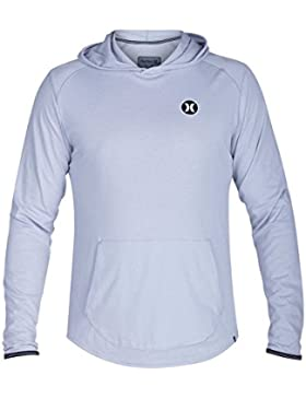 Hurley Dri-Fit Lagos Hoodie, Color Wolf Grey, Size: Xl